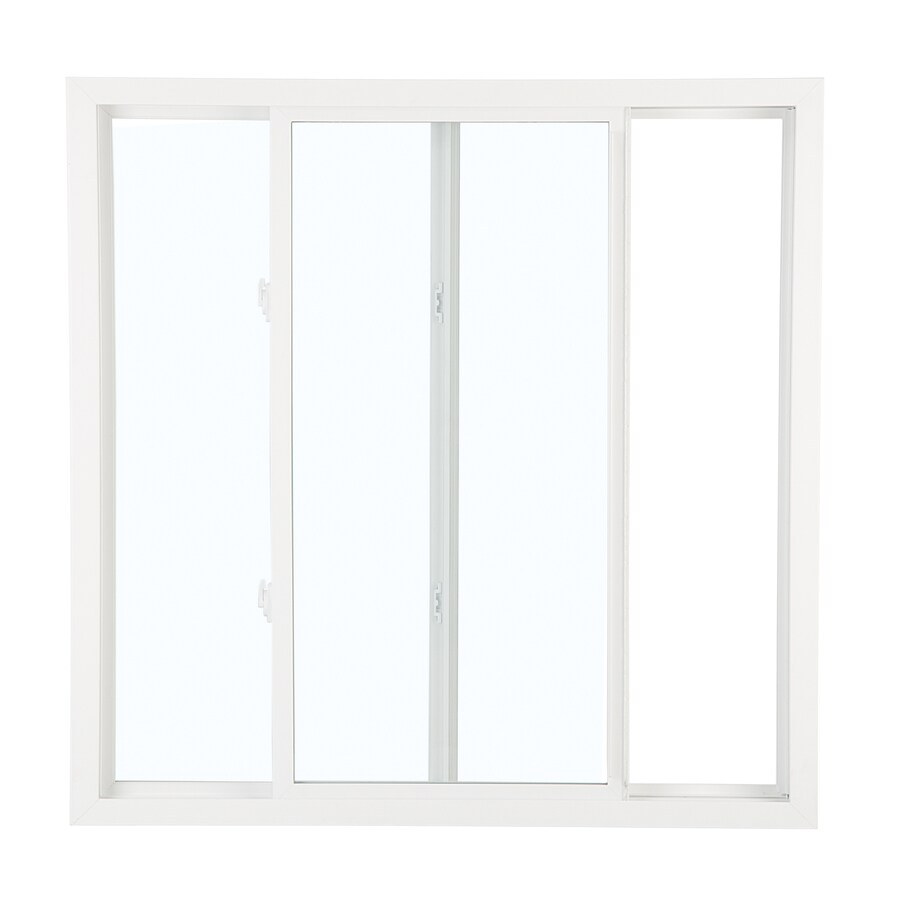 ReliaBilt 3050 Series Left-Operable Vinyl Double Pane Single Strength Replacement Sliding Window (Rough Opening: 36-in x 24-in; Actual: 35.75-in x 23.75-in)