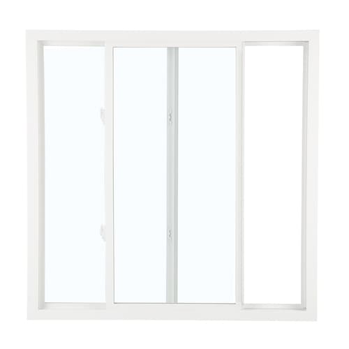 Mobile Home Replacement Doors Exterior: ReliaBilt 3050 Left-Operable Vinyl Replacement White