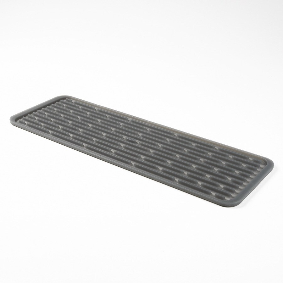 OXO 6-in W x 0.25-in L x 17-in H Plastic Drying Mat