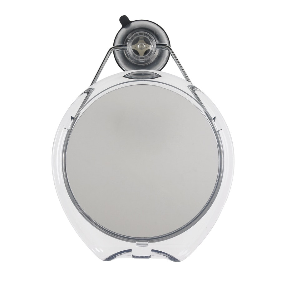 OXO Good Grips Clear Framed Round Wall Mirror