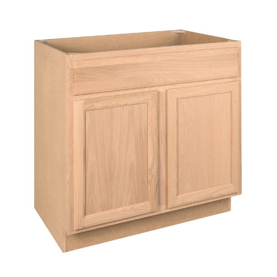 """36"""" Unfinished Sink Base Cabinet At Lowes.com"""