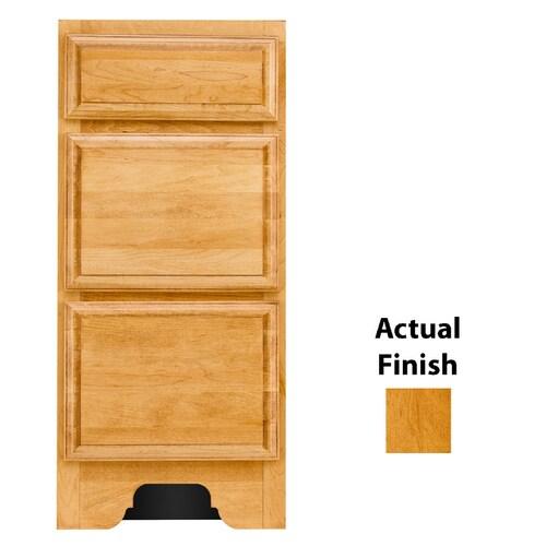 KraftMaid 12-in Honey Spice Bathroom Vanity Cabinet in the ...
