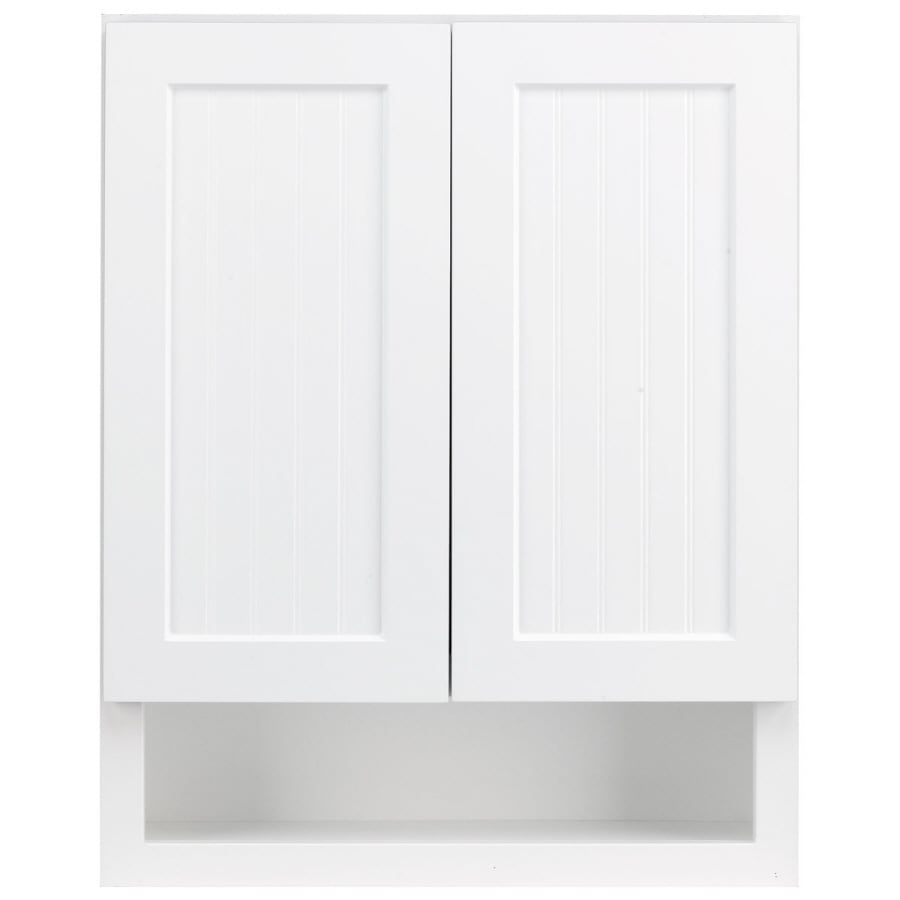 Shop Kraftmaid 24 In W X 30 In H X 7 In D White Bathroom