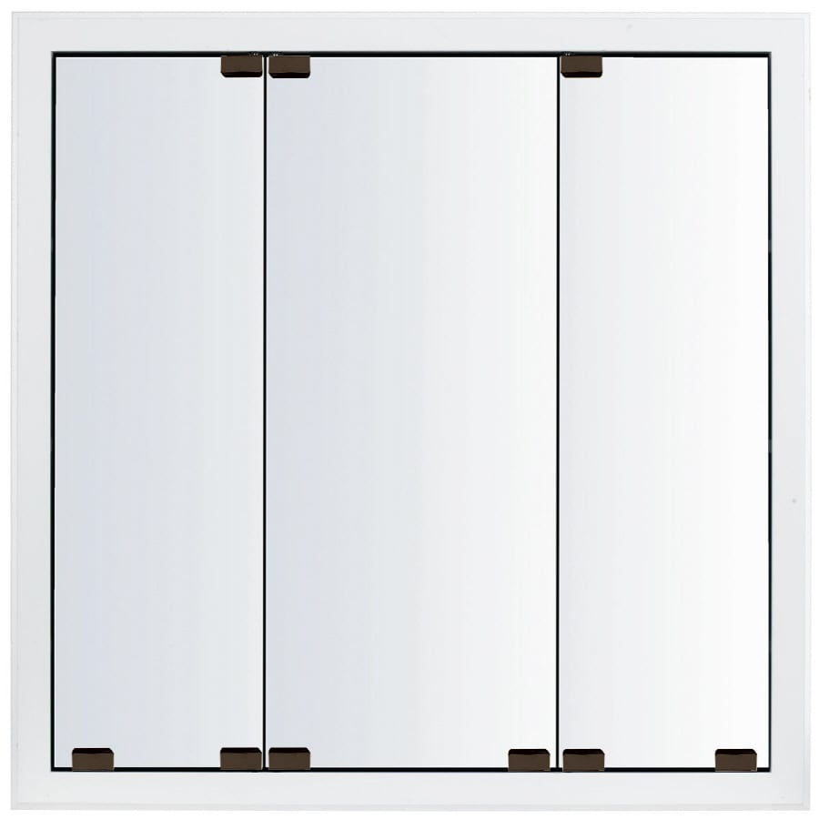 shop kraftmaid traditional 35 in x 28 in square surface rece