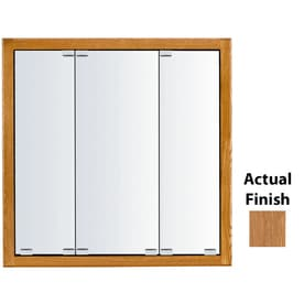 Merveilleux KraftMaid Formal 29 In X 28 In Square Surface/Recessed Mirrored Wood  Medicine