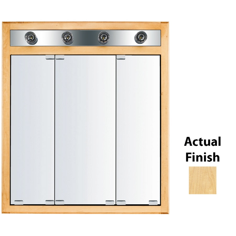 Kraftmaid Medicine Cabinet Replacement Mirror: KraftMaid Traditional 29-in X 33-in Square Surface