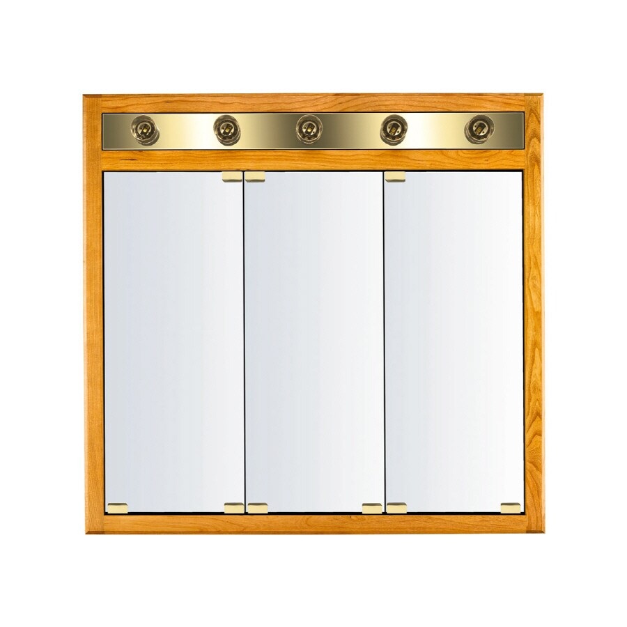 Kraftmaid Medicine Cabinet Mirror: Shop KraftMaid Classic 35-in X 33-in Square Surface