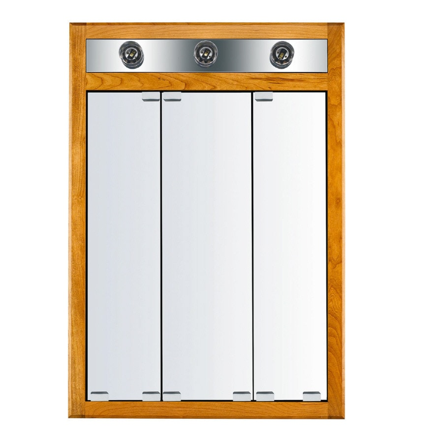 Kraftmaid Medicine Cabinet Replacement Mirror: KraftMaid Formal 24-in X 35-in Square Surface/Recessed