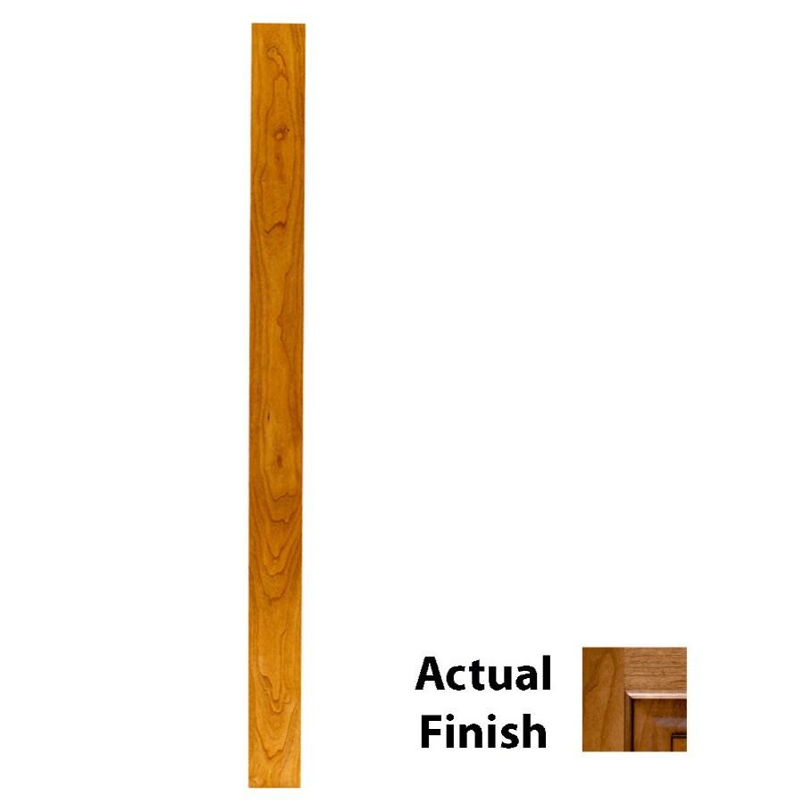 KraftMaid 3-in x 88.5-in Ginger Glaze Cabinet Fill Strip
