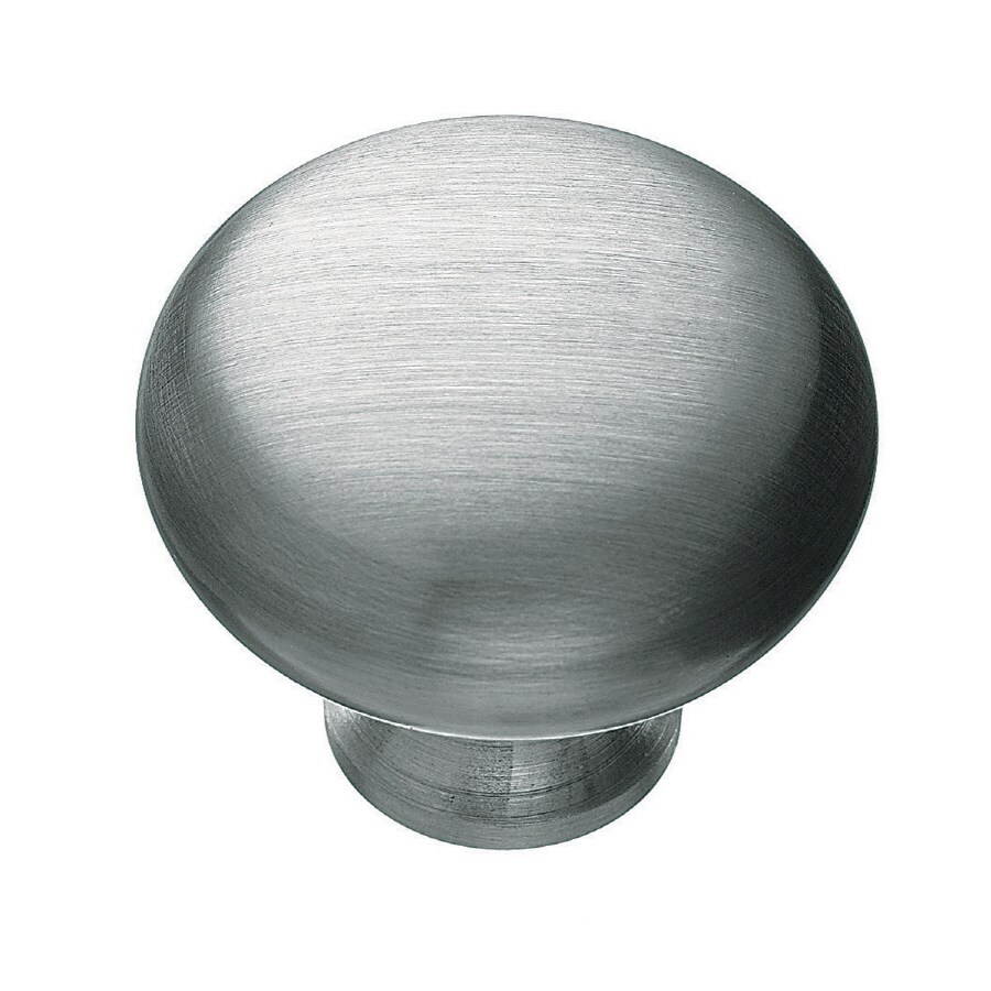 KraftMaid Silver Round Cabinet Knob