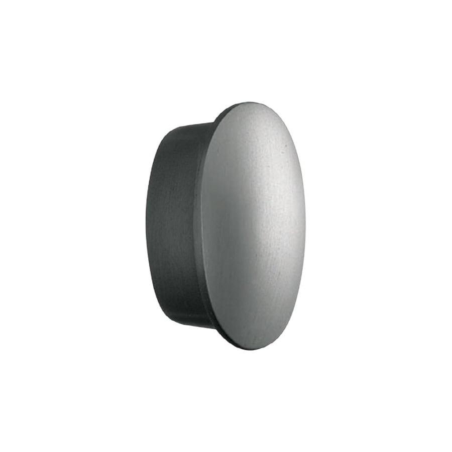 KraftMaid Silver Oval Cabinet Knob
