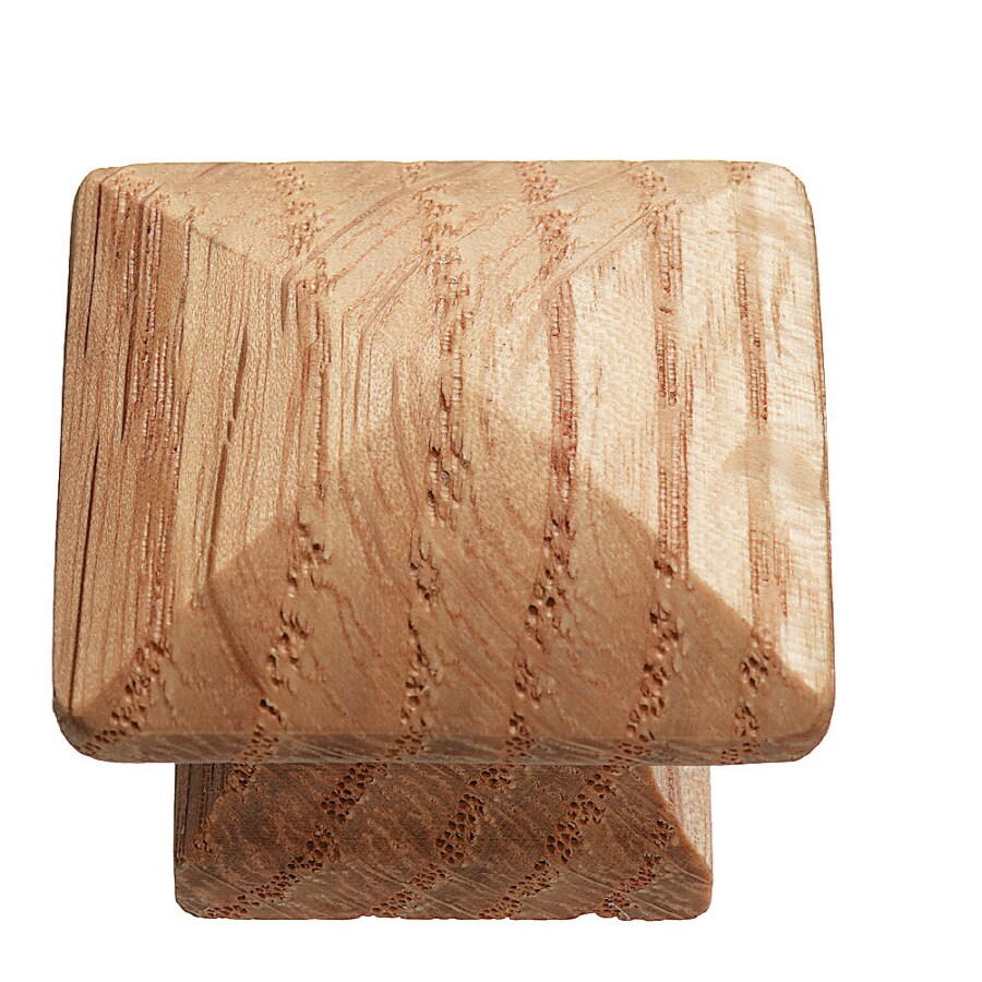 KraftMaid Brown Square Cabinet Knob