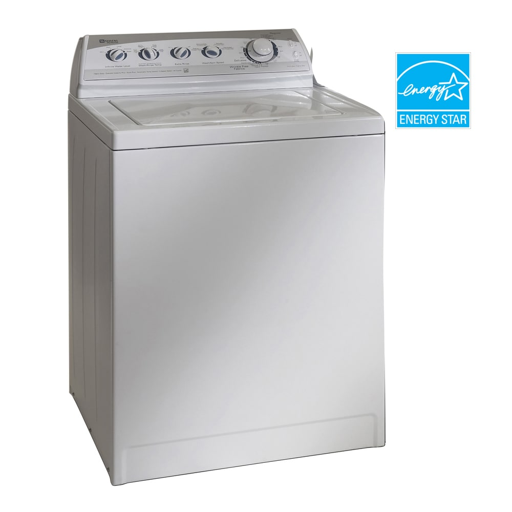 Maytag® 3.3 Cu. Ft. Oversize Capacity Plus Performa® Top Load Washer (White) ENERGY STAR®