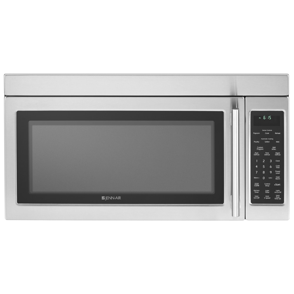 Jenn Air 30 Inch 2 0 Cu Ft Over The Range Microwave Oven Color Stainless