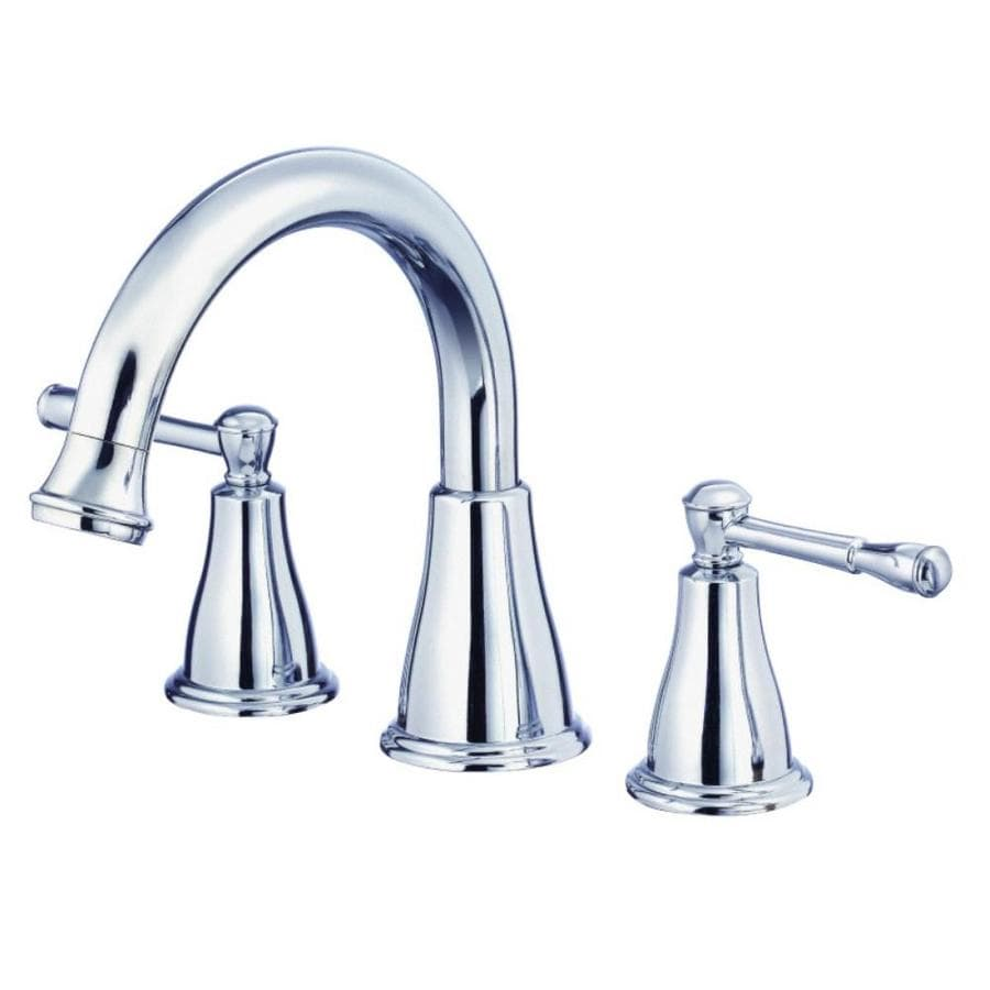 Danze Eastham Chrome 2-Handle Adjustable Deck Mount Bathtub Faucet