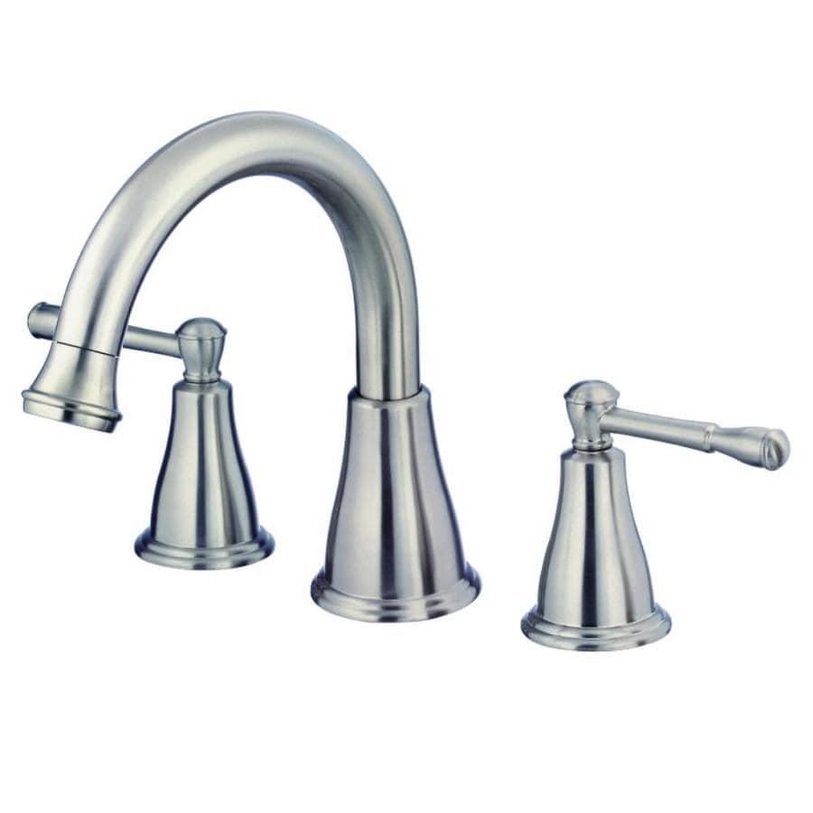Danze Eastham Brushed Nickel 2-Handle Adjustable Deck Mount Bathtub Faucet