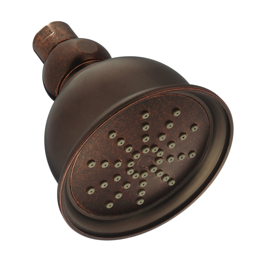 Danze 4-in 2.5-GPM (9.5-LPM) Tumbled Bronze Showerhead
