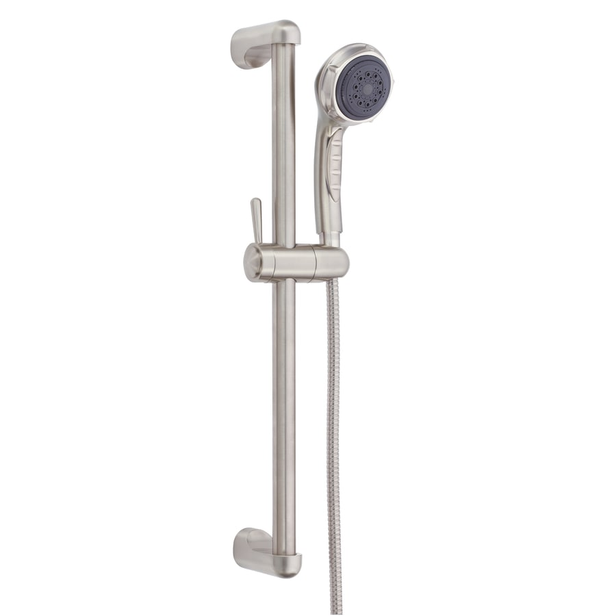 Danze Nourish 3-in 2.5-GPM (9.5 Lpm) Brushed Nickel 3-Spray Hand Shower