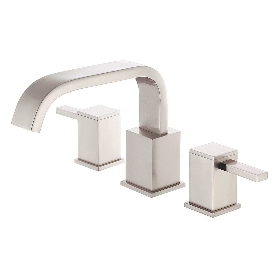 Danze Reef Brushed Nickel 2-Handle Adjustable Deck Mount Tub Faucet