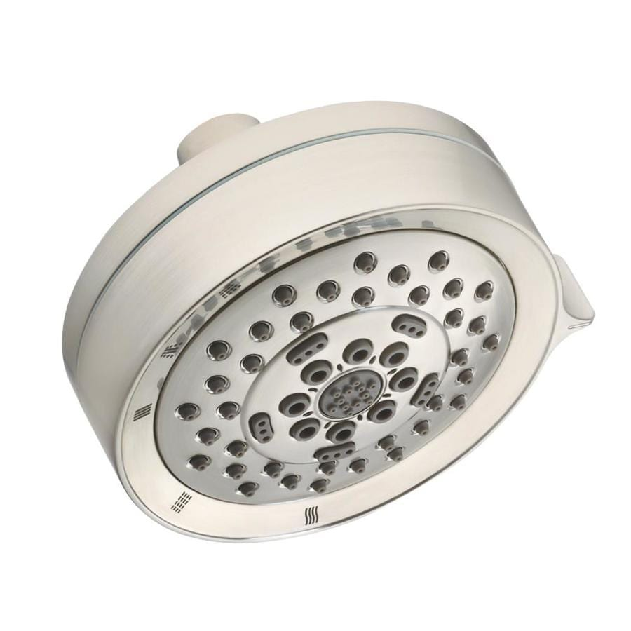 Danze Shower 4.5-in 2.5-GPM (9.5-LPM) Brushed Nickel 1-Spray Showerhead