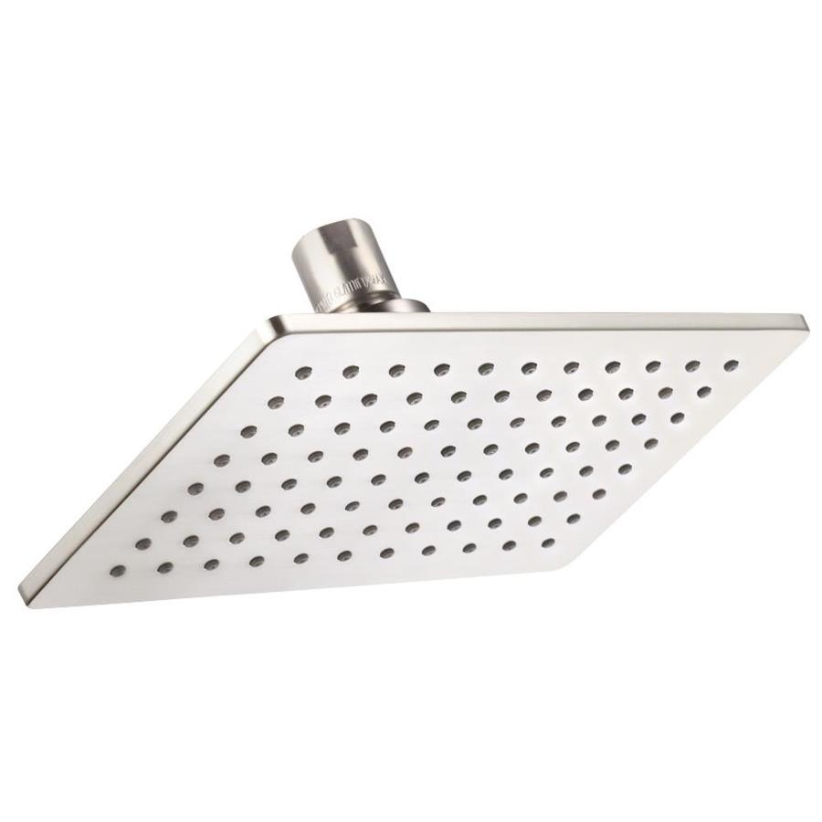 Danze Shower 8-in 2.0-GPM (7.6-LPM) Brushed Nickel 3-Spray WaterSense Rain Showerhead