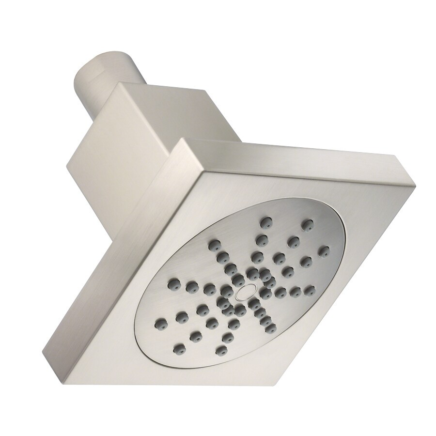 Danze Shower 4-in 2.5-GPM (9.5-LPM) Brushed Nickel 1-Spray WaterSense Showerhead
