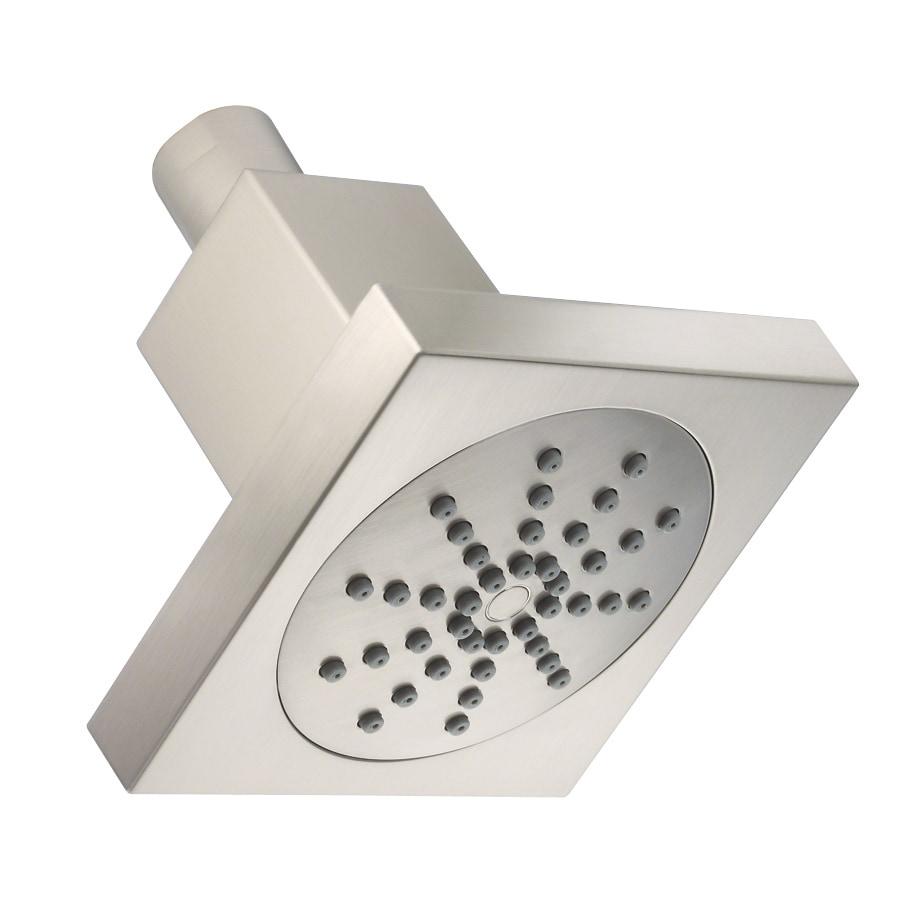 Danze 4-in 2.0-GPM (7.6-LPM) Brushed Nickel WaterSense Showerhead