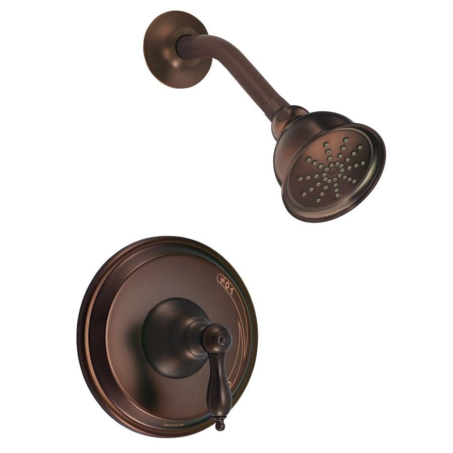 Danze Fairmont Oil Rubbed Bronze 1-Handle Shower Faucet Trim Kit with Single Function Showerhead