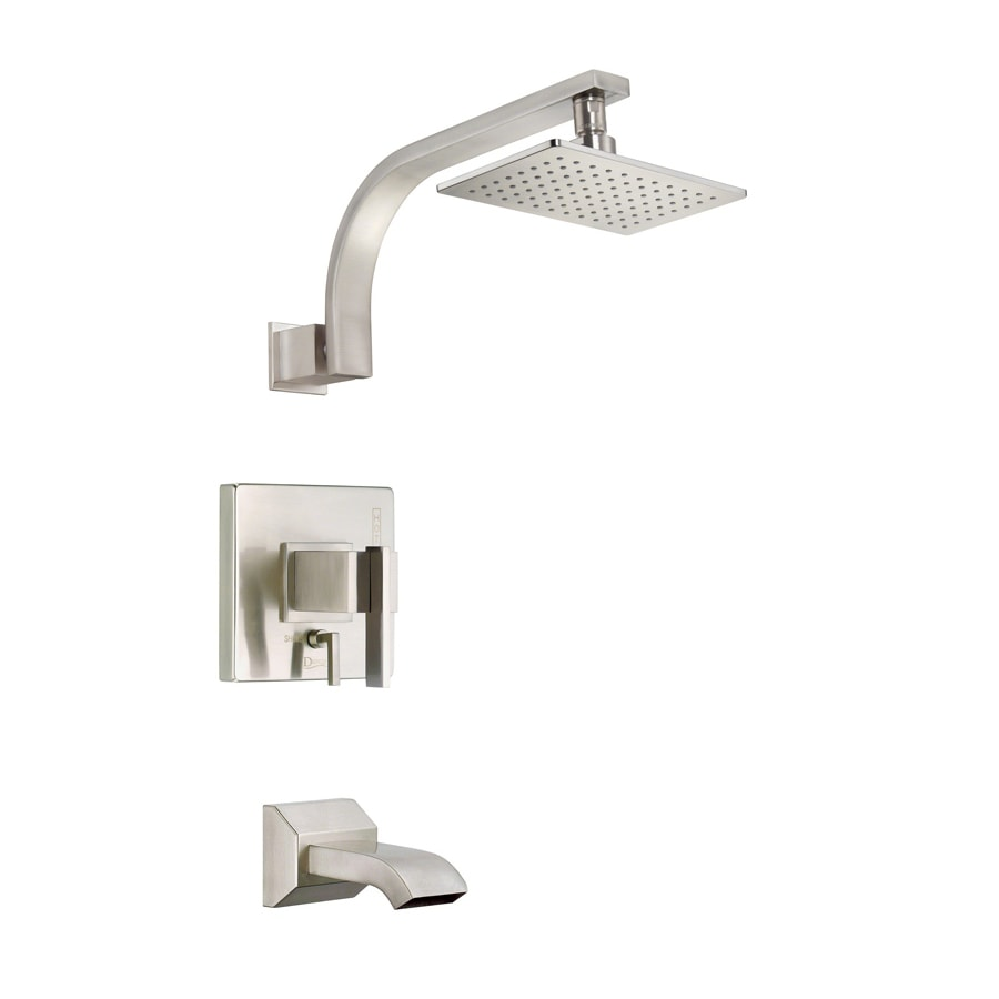 Danze Sirius Brushed Nickel 1-Handle Handle(S) Included WaterSense Tub and Shower with Single Function Showerhead