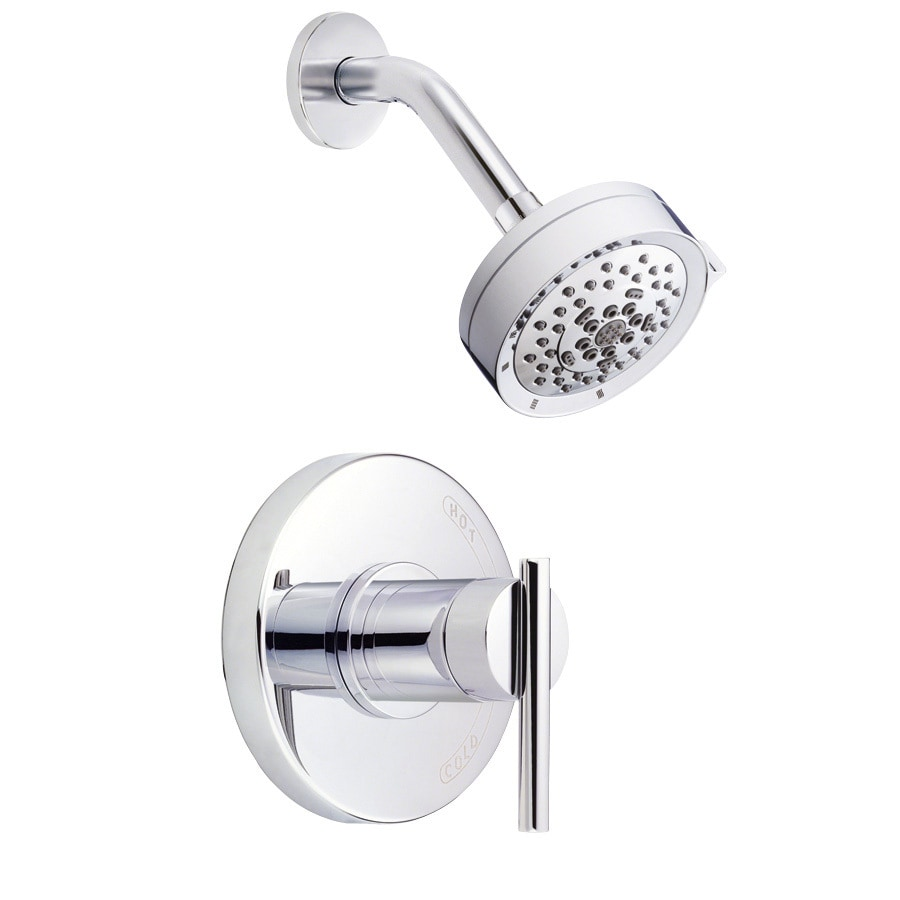 Danze Parma Chrome 1-Handle Handle(S) Included Shower Faucet with Multi-Function Showerhead