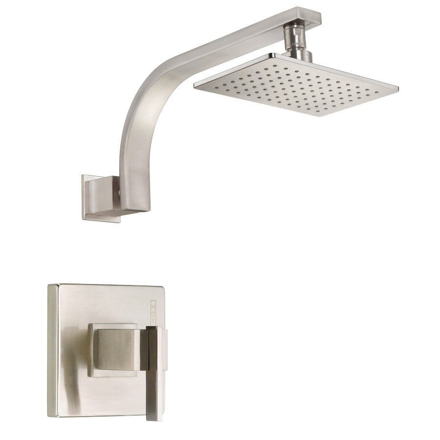 Danze Sirius Brushed Nickel 1-Handle Shower Faucet Trim Kit with Single Function Showerhead