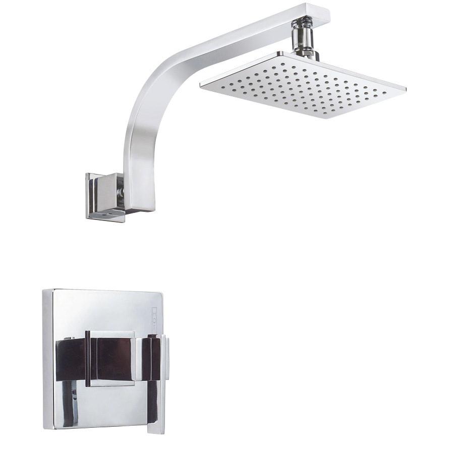 Danze Sirius Chrome 1-Handle Shower Faucet Trim Kit with Single Function Showerhead