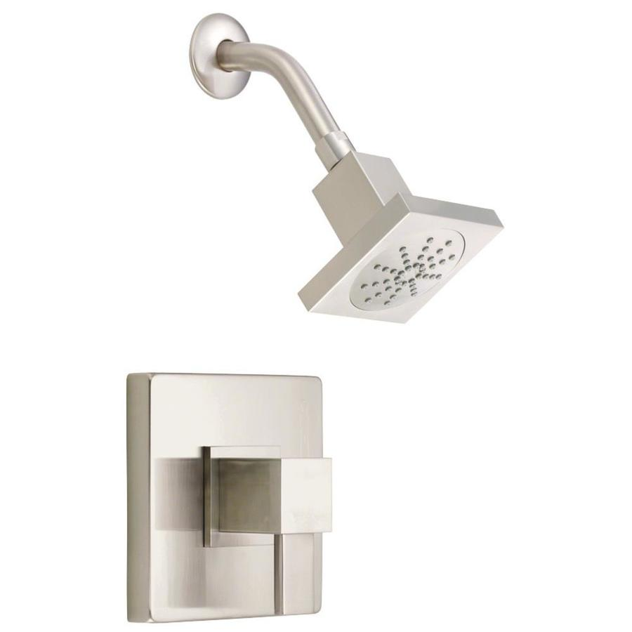 Danze Reef Brushed Nickel 1-Handle Shower Faucet Trim Kit with Single Function Showerhead