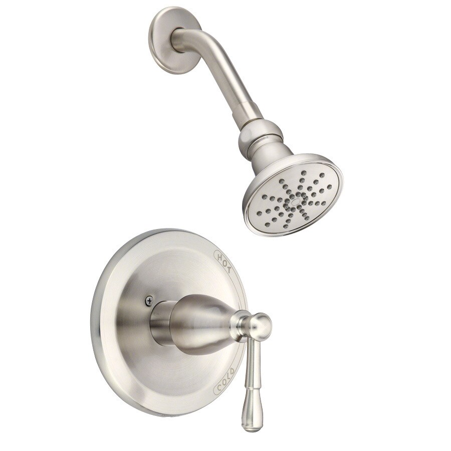 Danze Eastham Brushed Nickel 1-Handle Shower Faucet Trim Kit with Single Function Showerhead