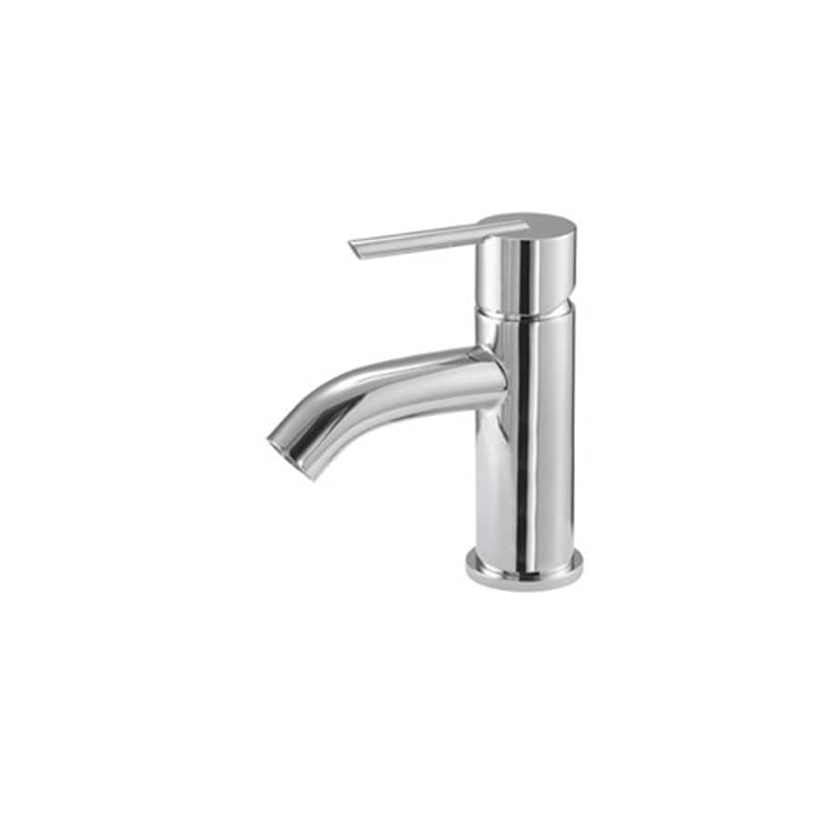 Danze Rouge Chrome 1-Handle Single Hole WaterSense Bathroom Faucet (Drain Included)
