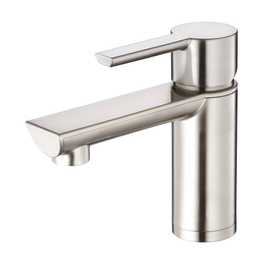 Shop Danze Adonis Brushed Nickel 1 Handle Single Hole Watersense Bathroom Faucet Drain Included