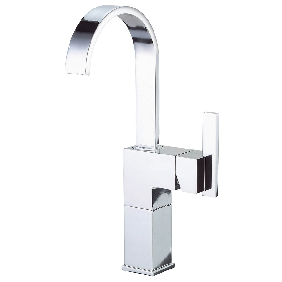 Shop Danze Sirius Chrome 1 Handle Single Hole Bathroom Sink Faucet At