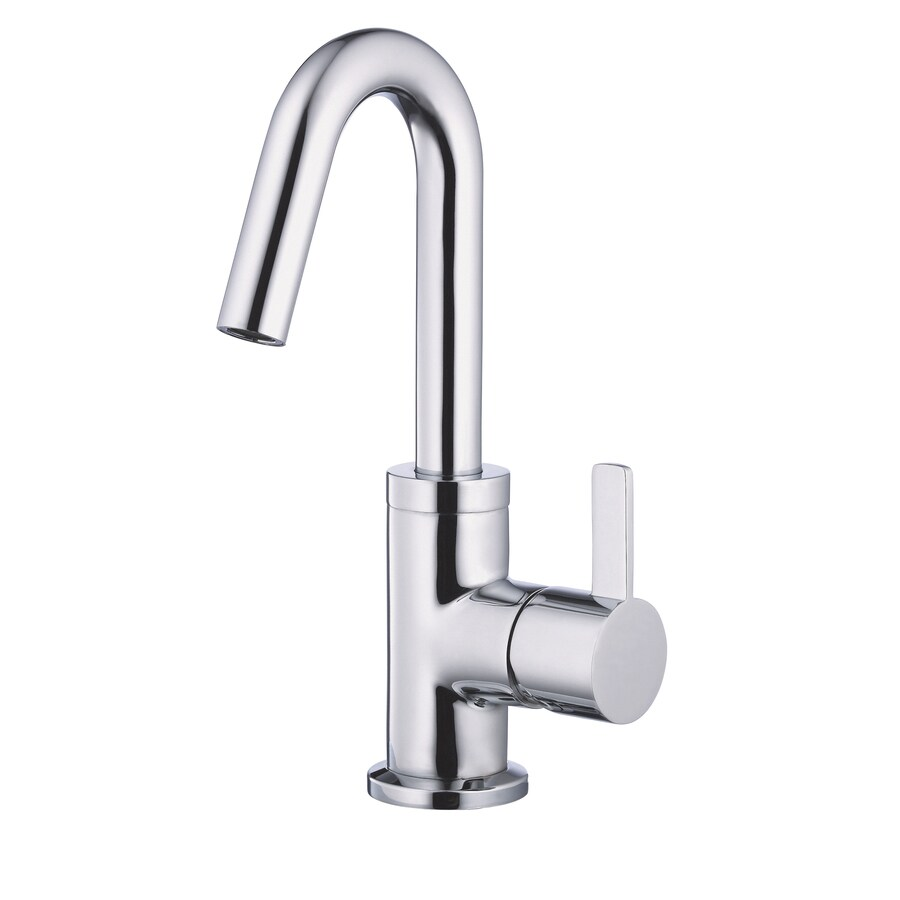 Danze Amalfi Chrome 1-Handle Single Hole WaterSense Bathroom Faucet (Drain Included)