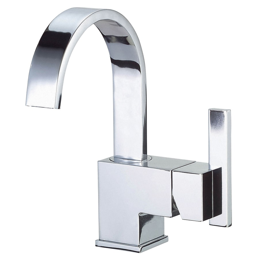 Danze Sirius Chrome 1-Handle Single Hole Bathroom Faucet (Drain Included)
