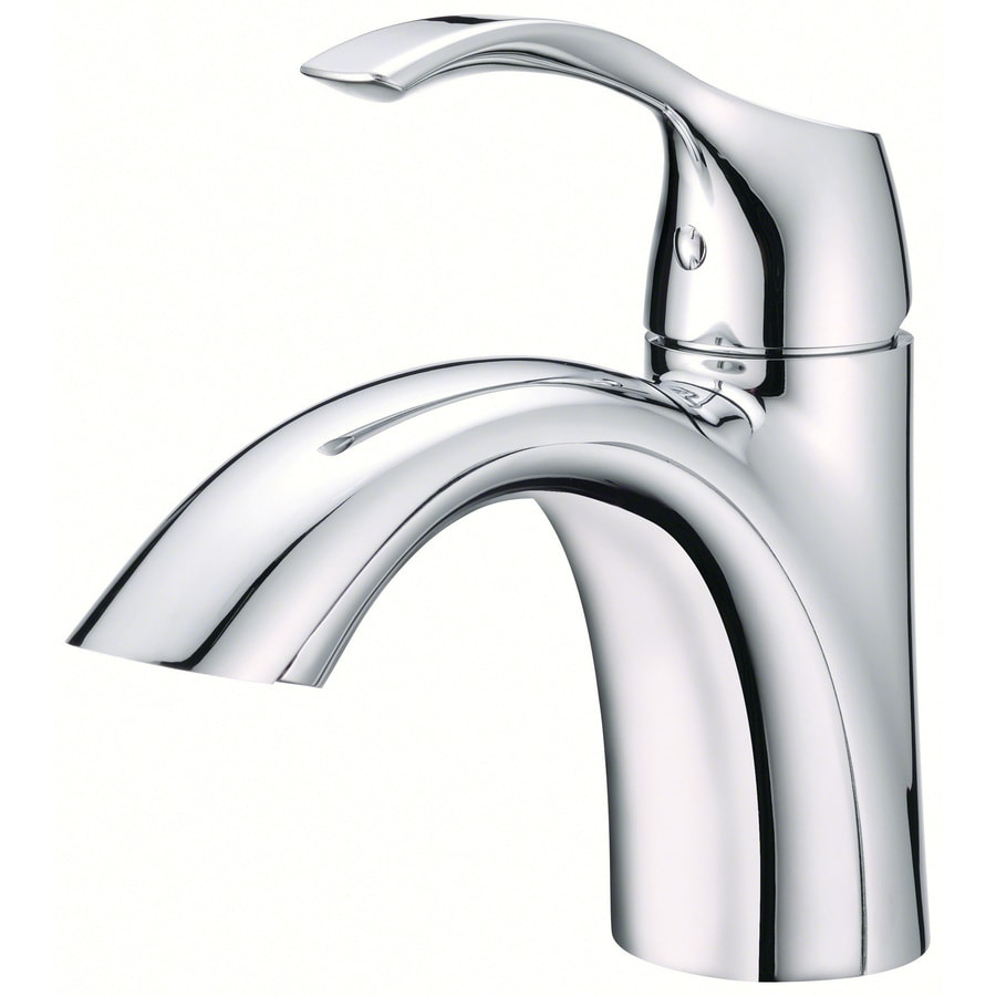 Danze Antioch Chrome 1-Handle Single Hole WaterSense Bathroom Faucet (Drain Included)