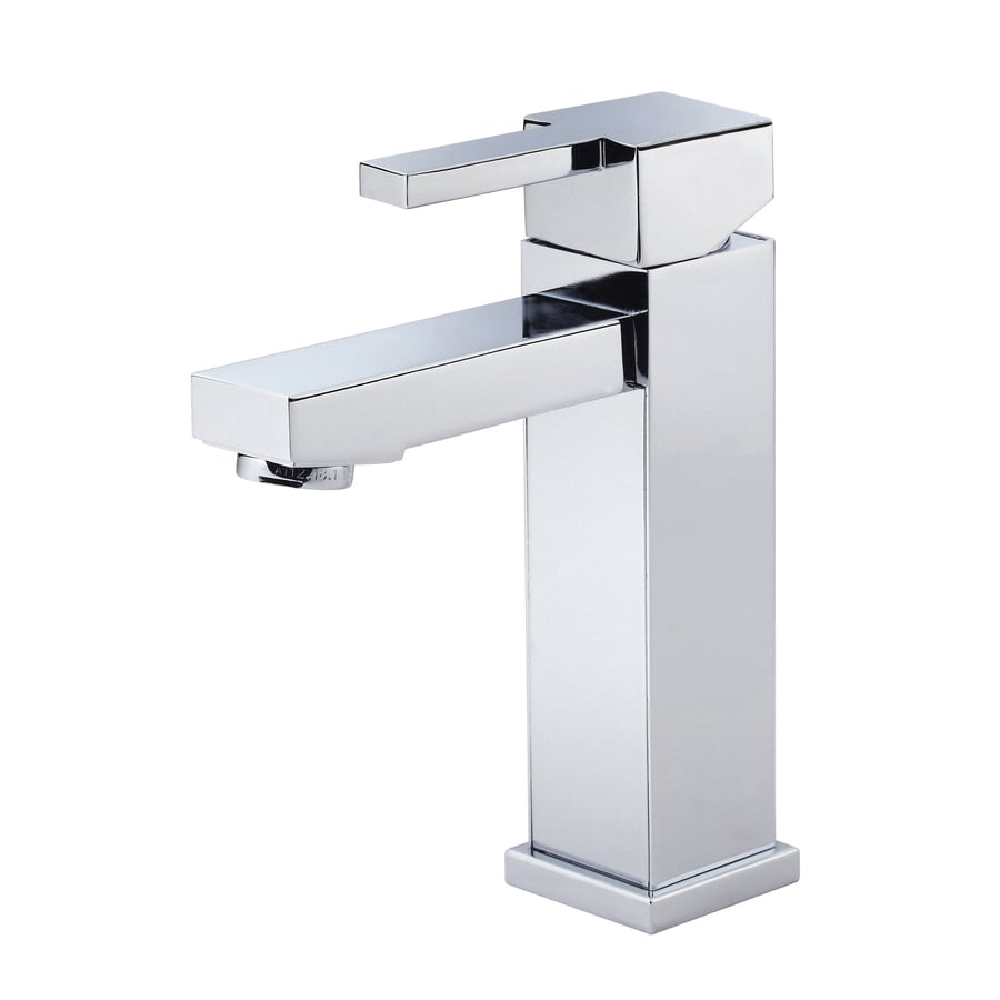 Danze Reef Chrome 1-Handle Single Hole WaterSense Bathroom Faucet (Drain Included)