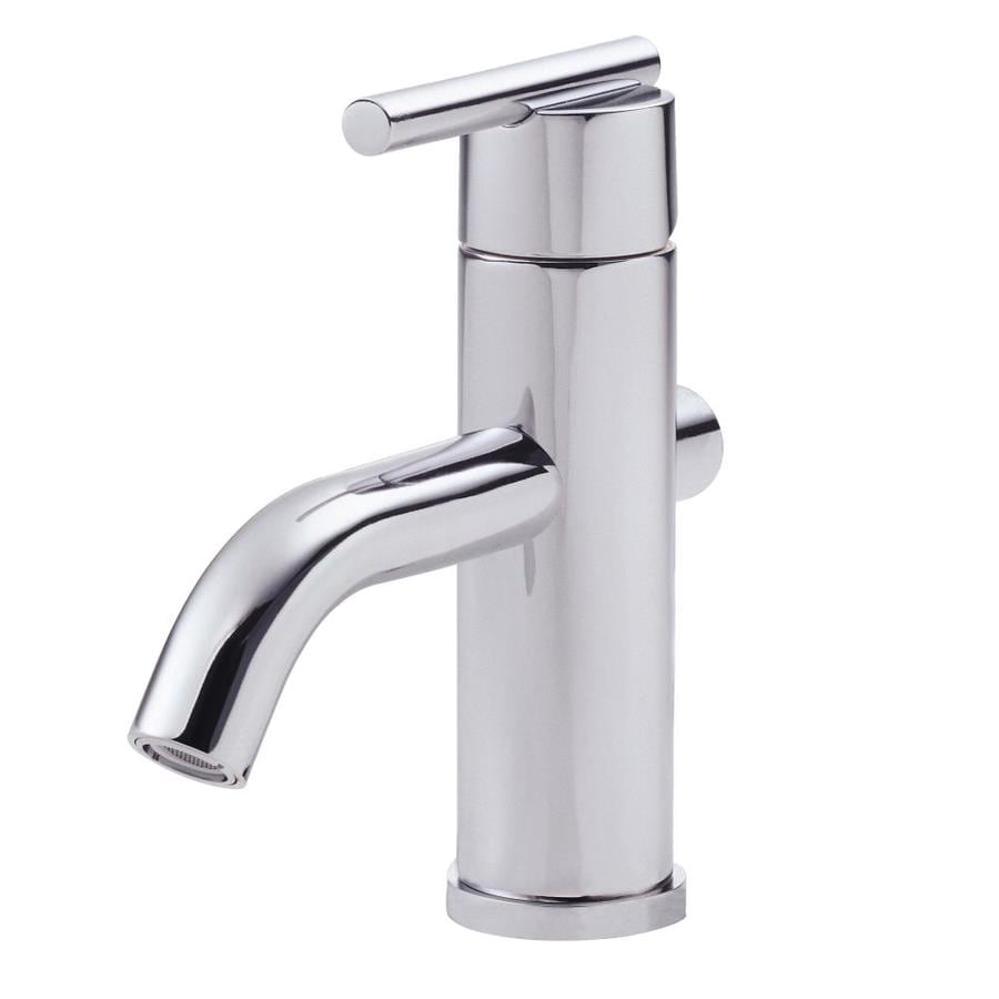 Shop Danze Parma Chrome 1 Handle Single Hole Watersense Bathroom Faucet Drain Included At