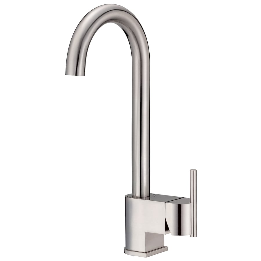 Danze Como Stainless Steel 1-Handle Bar and Prep Faucet