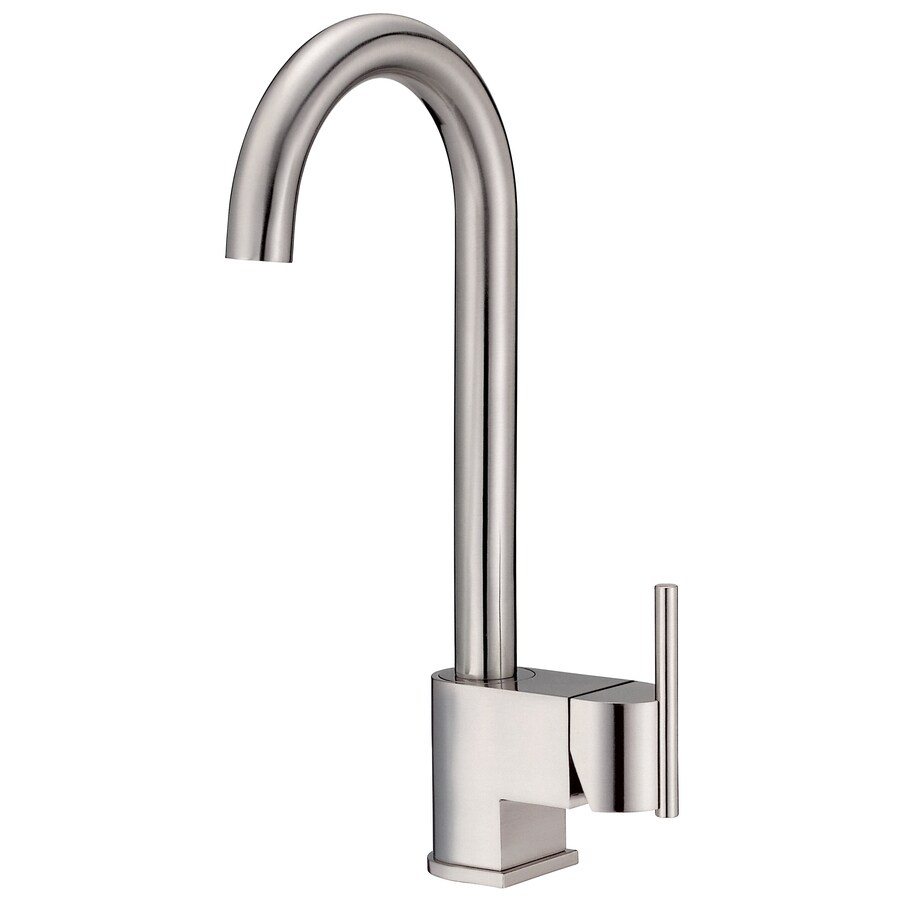 Danze Como Stainless Steel 1-Handle Handle(S) Included Bar and Prep Faucet