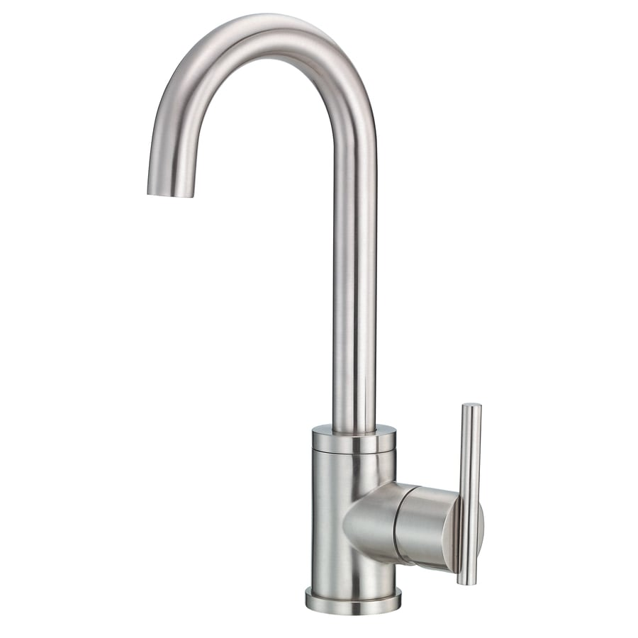 danze parma kitchen faucet shop danze parma stainless steel 1 handle deck mount high 17115