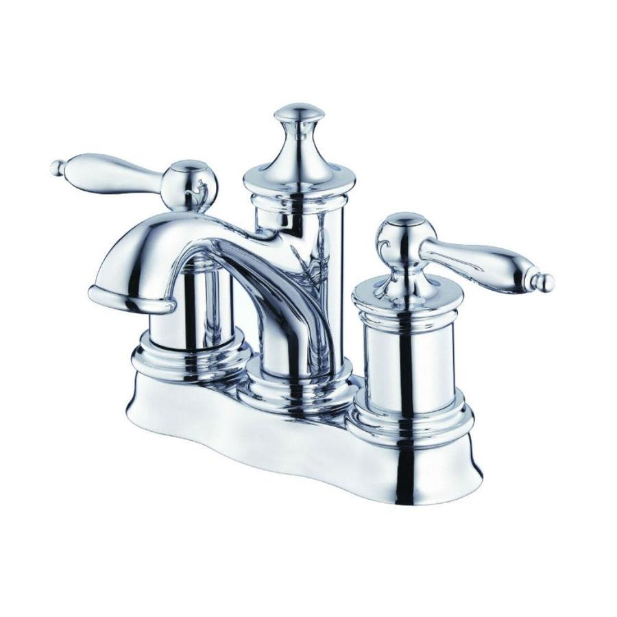 Danze Prince Chrome 2-Handle 4-in Centerset WaterSense Bathroom Faucet (Drain Included)