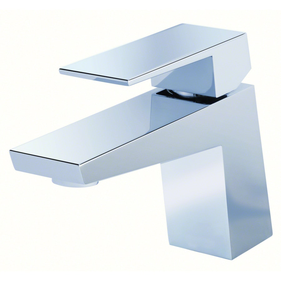 Shop Danze Mid-Town Chrome 1-Handle Single Hole WaterSense Bathroom ...