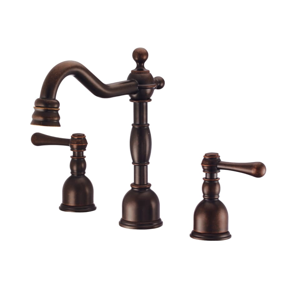 Danze Opulence Tumbled Bronze 2-Handle 4-in Centerset WaterSense Bathroom Faucet