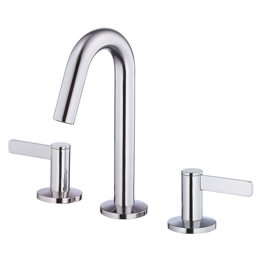 Shop Danze Amalfi Chrome 2 Handle 4 In Mini Widespread WaterSense Bathroom Fa