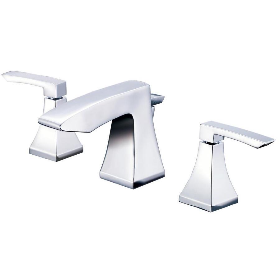 Shop Danze Logan Square Chrome 2 Handle Widespread Watersense Bathroom Faucet At